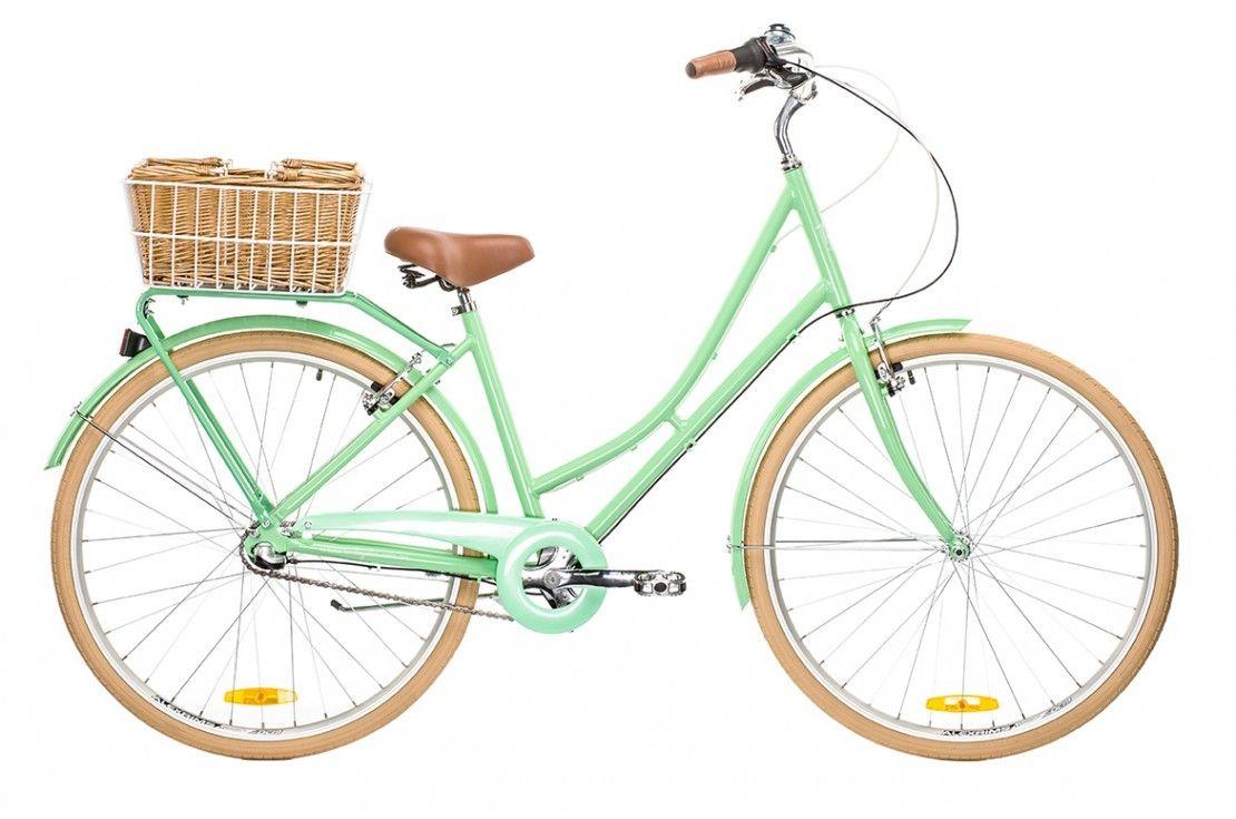 Vintage Ladies Deluxe Mint Green Vintage Ladies Bike Hybrid Bike Vintage Bike