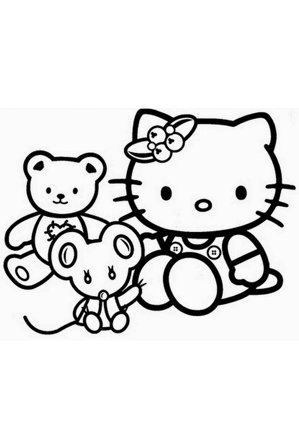10+ Hello Kitty Coloring Pages For Kids   Hello kitty colouring ...