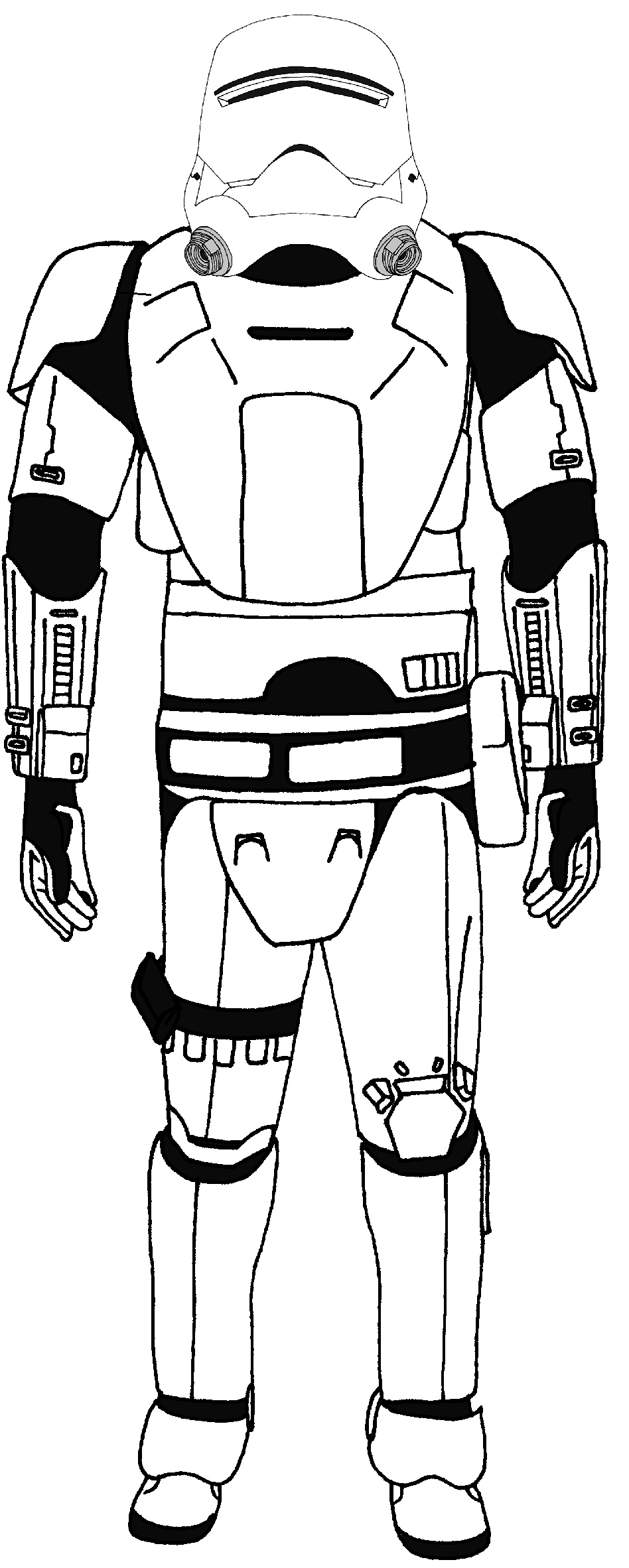 first order stormtrooper coloring pages - photo#12