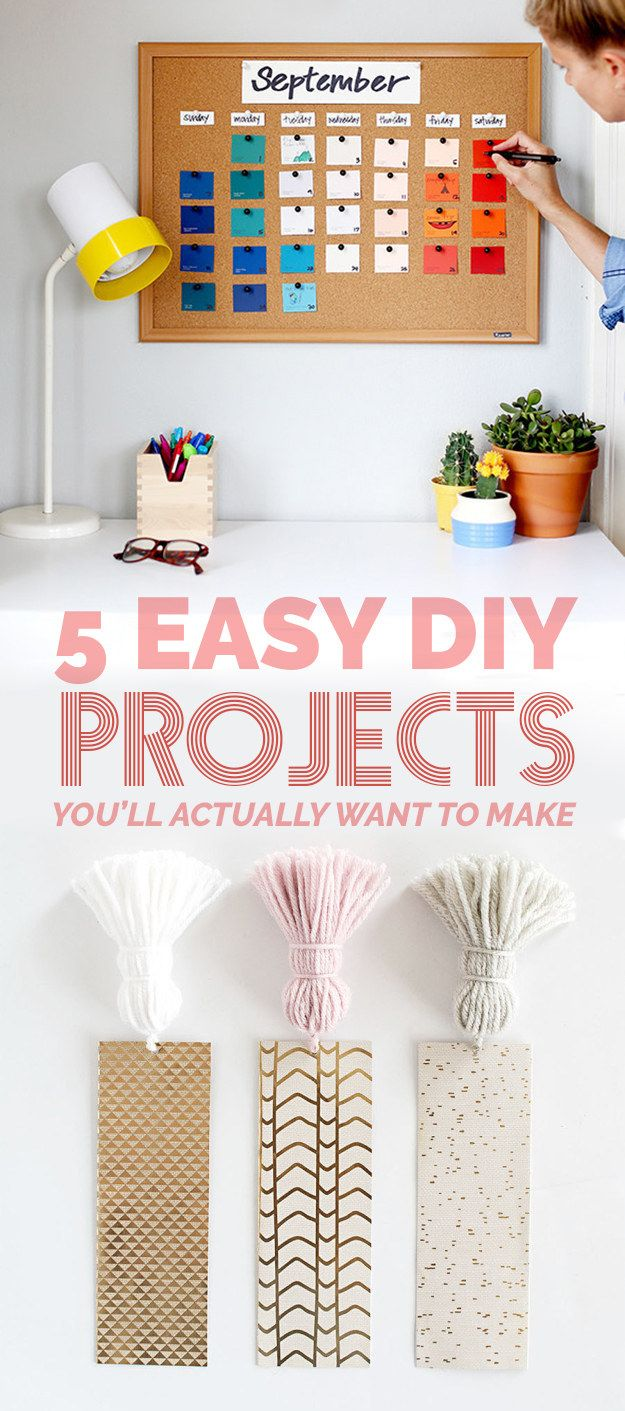 diy easy diys projects decor minutes crafts craft buzzfeed cool insanely fails try decoration crafting yourself bookmarks hacks bored need