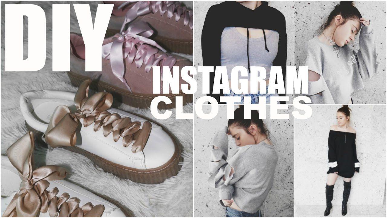 Diy Instagram Clothes 5 Easy Trendy Fashion Diy S