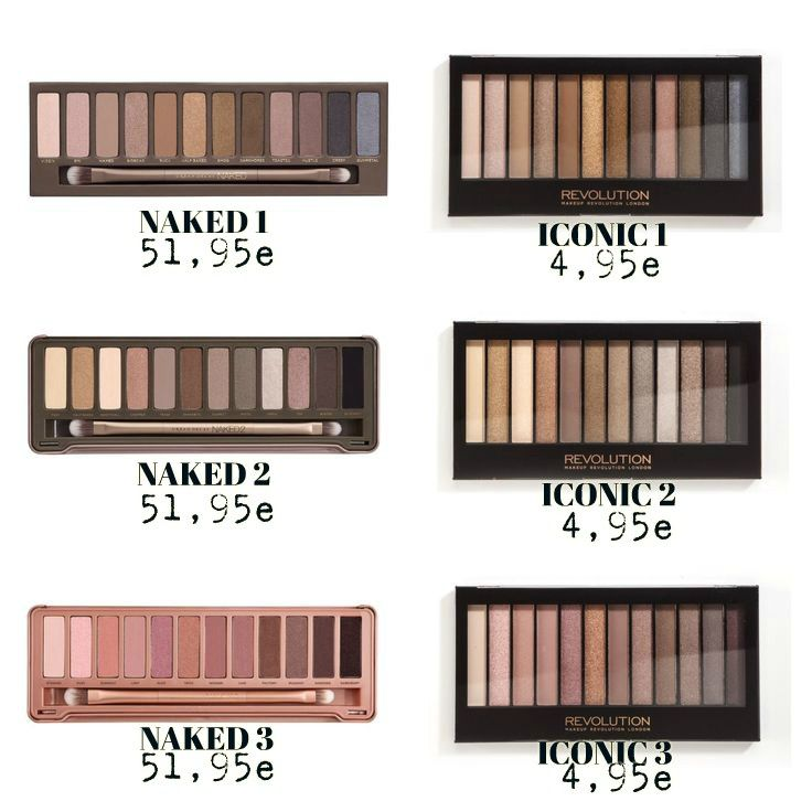 Urban decay naked palette dupe images 47