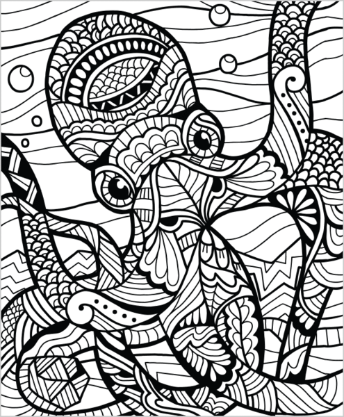Wild Animals Volume 1 Illustrated By Terbit Basuki Coloring