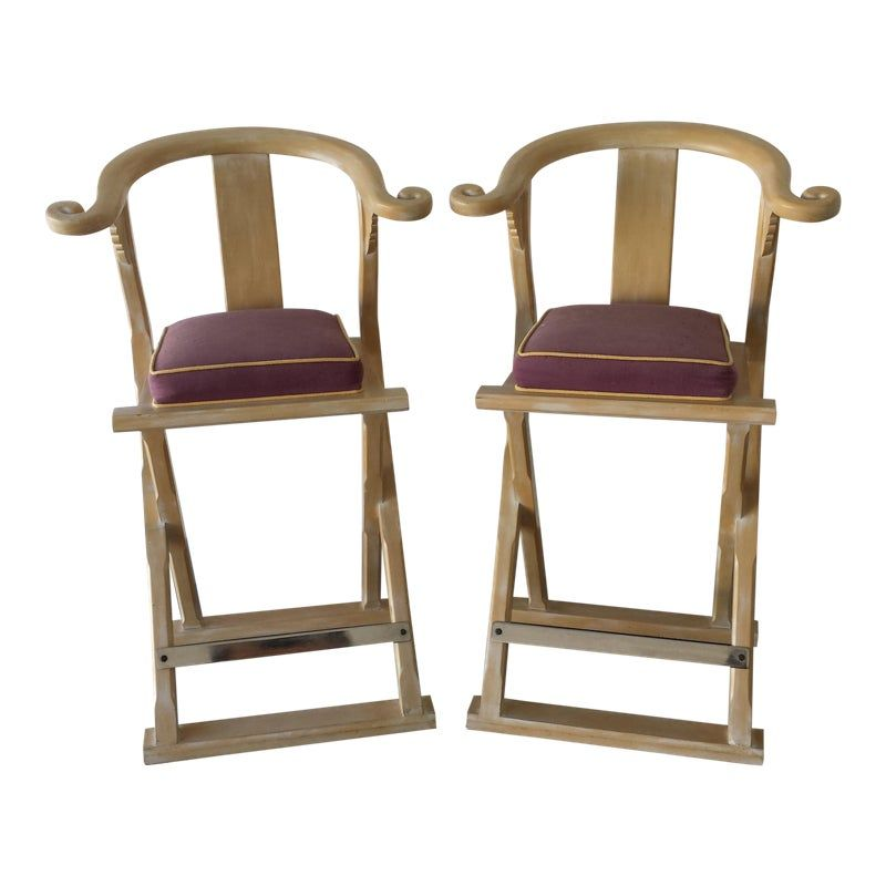 Peachy Vintage Chinoiserie Bar Stools A Pair Products In 2019 Caraccident5 Cool Chair Designs And Ideas Caraccident5Info