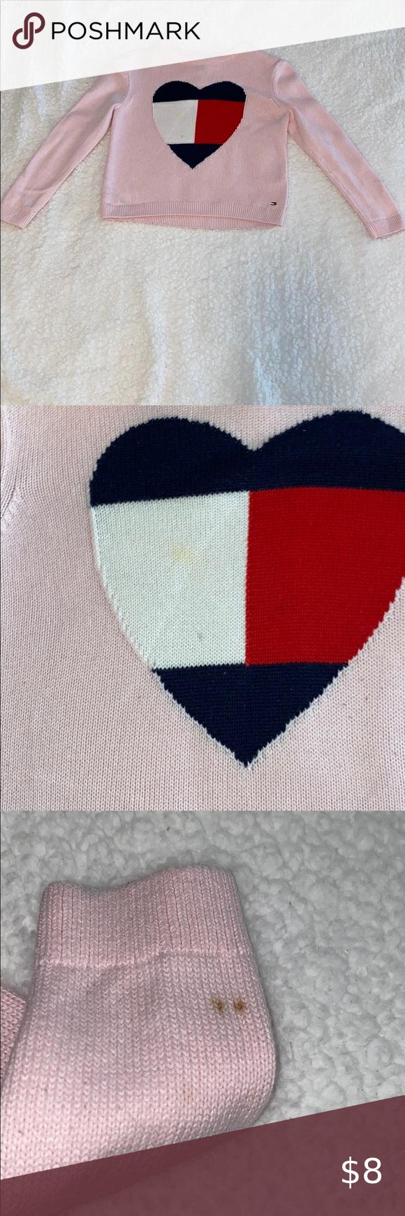 Tommy Hilfiger Little Girls Sweater Size S (6-7) T