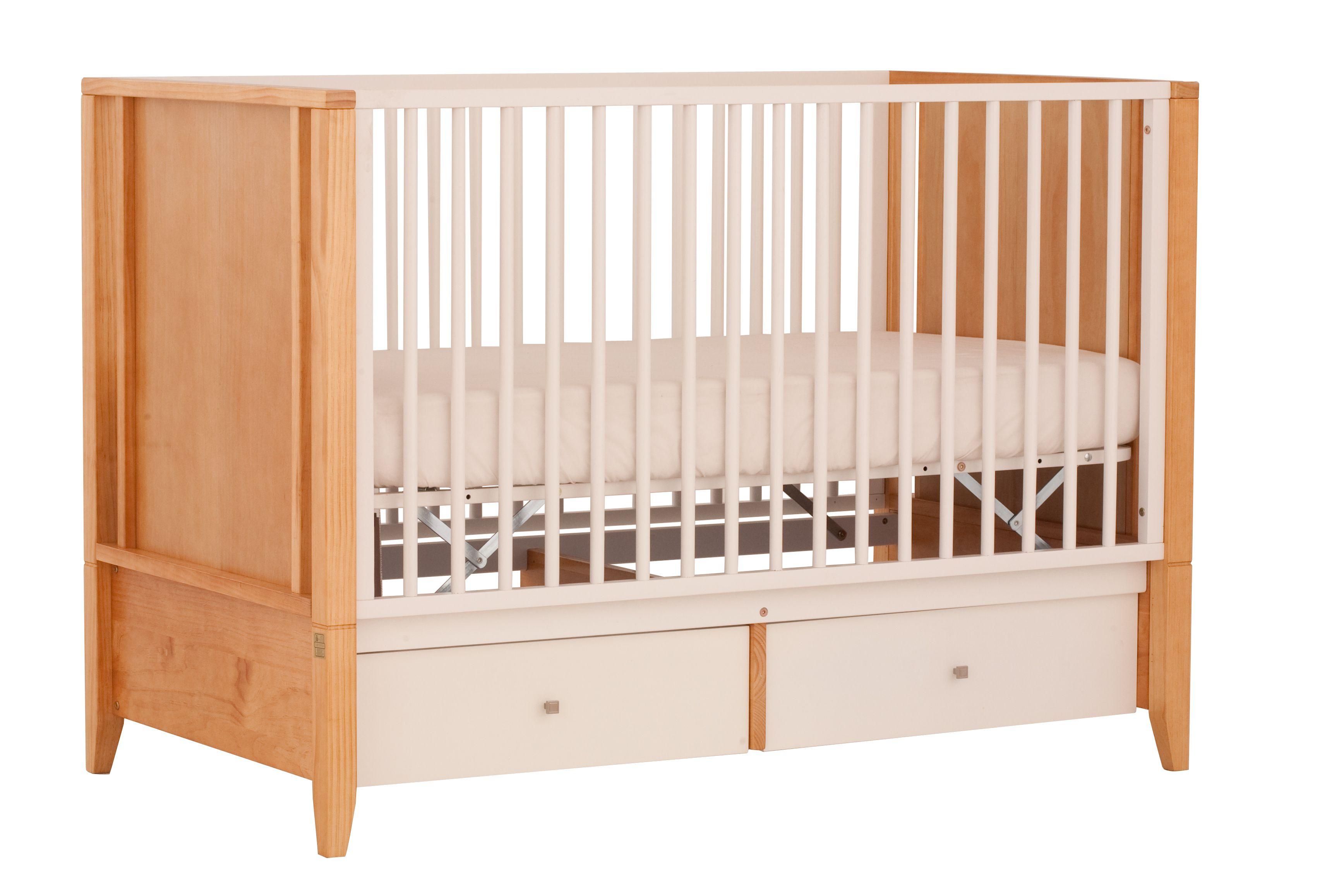 Crib Status Furniture White With Honey