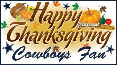 Happy Thanksgiving Dallas Cowboys Football Dallas Cowboys