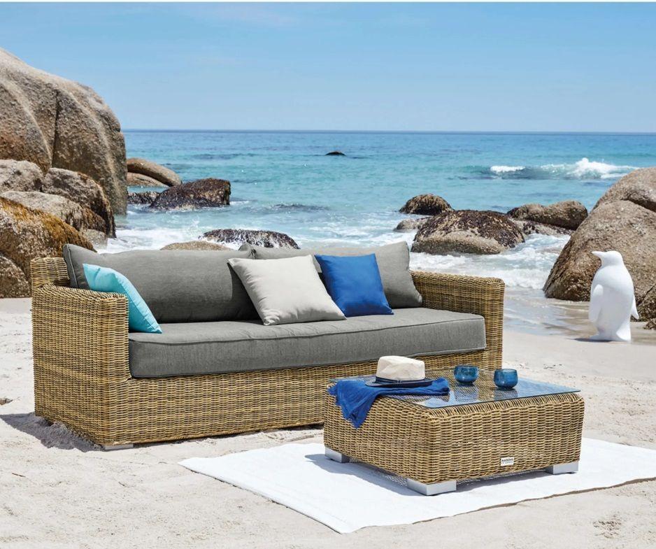 Come scegliere il salotto da giardino? Maisons Du Monde Divani Esterno 7 Idee Per Il Tuo Giardino 3 Outdoor Sofa Garden Sofa Outdoor Furniture Collections