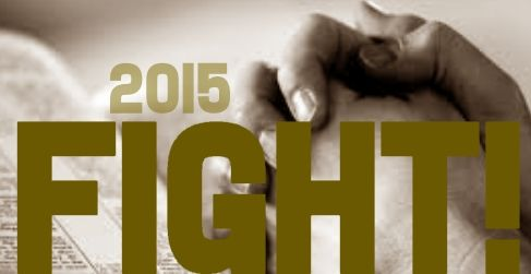 Author Kristen Feola shares about her one word for 2015 - FIGHT!