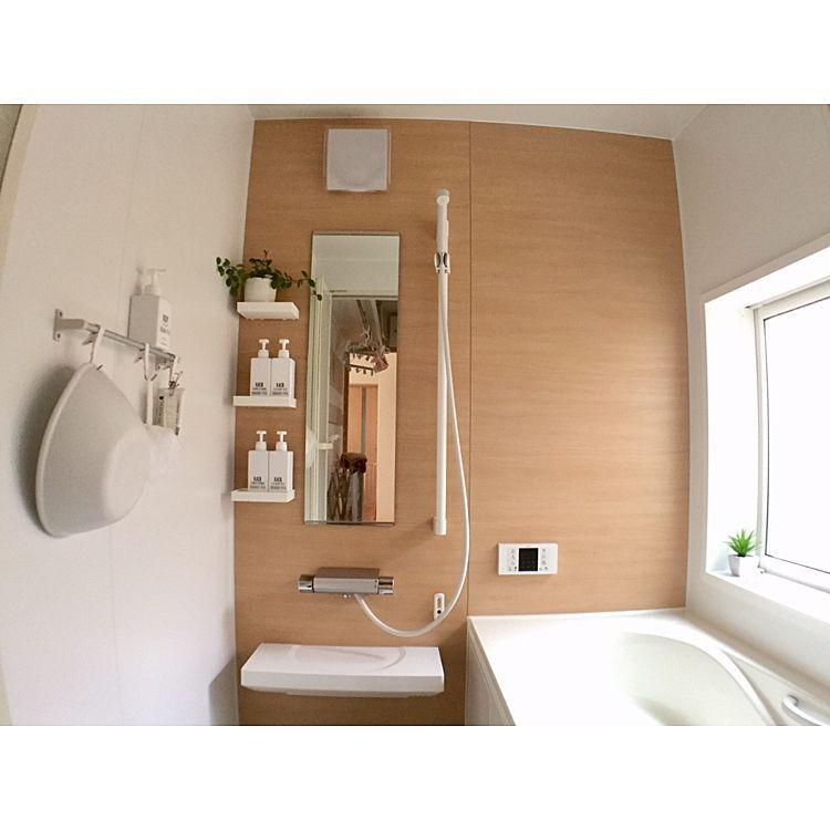 バス トイレ 無印良品 Lixil お風呂 バスルームのインテリア実例