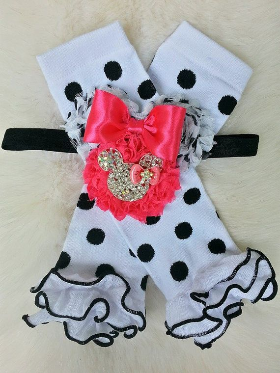Hey, I found this really awesome Etsy listing at https://www.etsy.com/listing/204149996/minnie-mouse-leg-warmersleggingsbaby