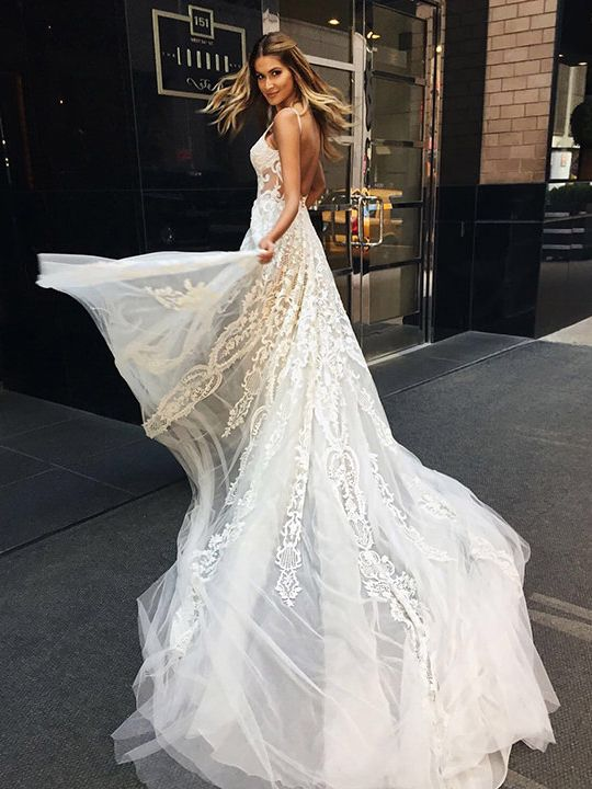 pinterest: amberluxxe // bridal vows wedding gowns ceremony bride ...