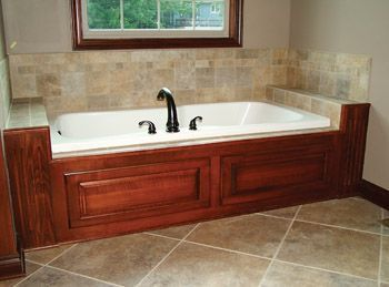 tile bathtub surrounds google search www. Black Bedroom Furniture Sets. Home Design Ideas