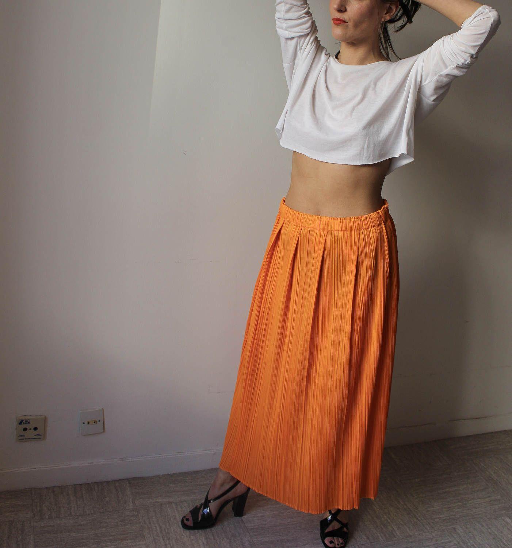PLEATS PLEASE BY ISSEY MIYAKE Jupe Longue Rit434