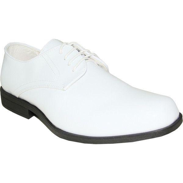 White Genoa Style Patent Leather Shoe