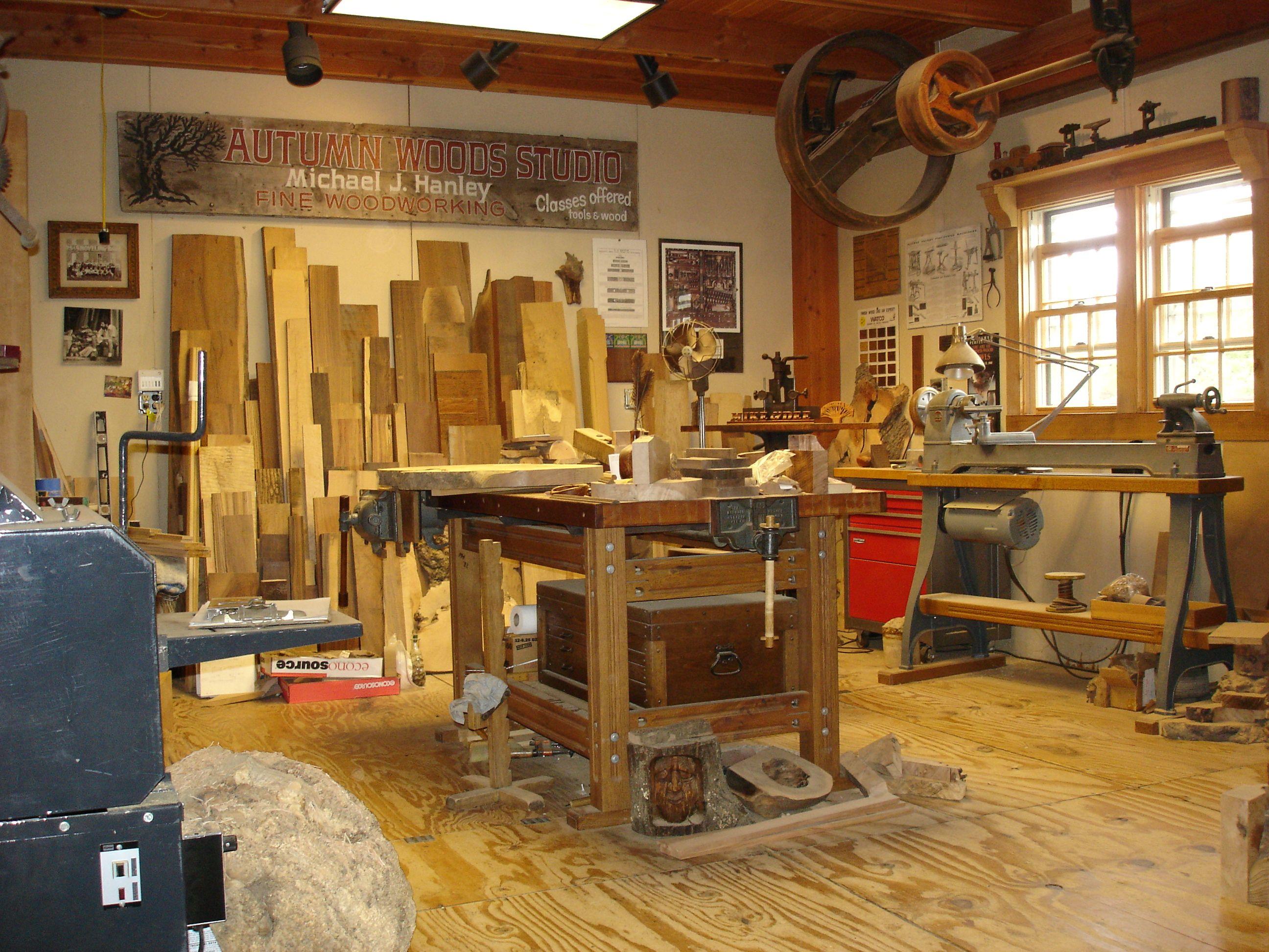 woodworking shop | autumn woods studio - fine woodworking
