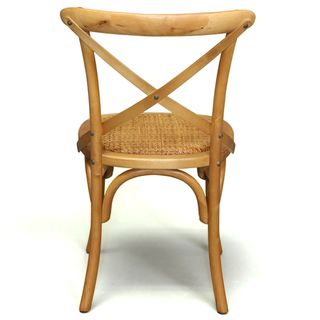 Christopher Knight Home Cross-Back Light Brown Birch Dining Chair | Overstock.com Shopping - Great Deals on Christopher Knight Home Dining C...