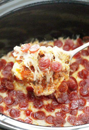 Ultimate Pizza Dip Recipe Appetizer Recipes Food Recipes Cooking Recipes