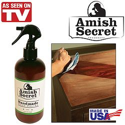 Inspired By An Age Old Amish Tradition This Handmade Wood Polish Instantly Restores Wood S Natural Beauty Exclusive See On Tv Home Helpers Amish Traditions