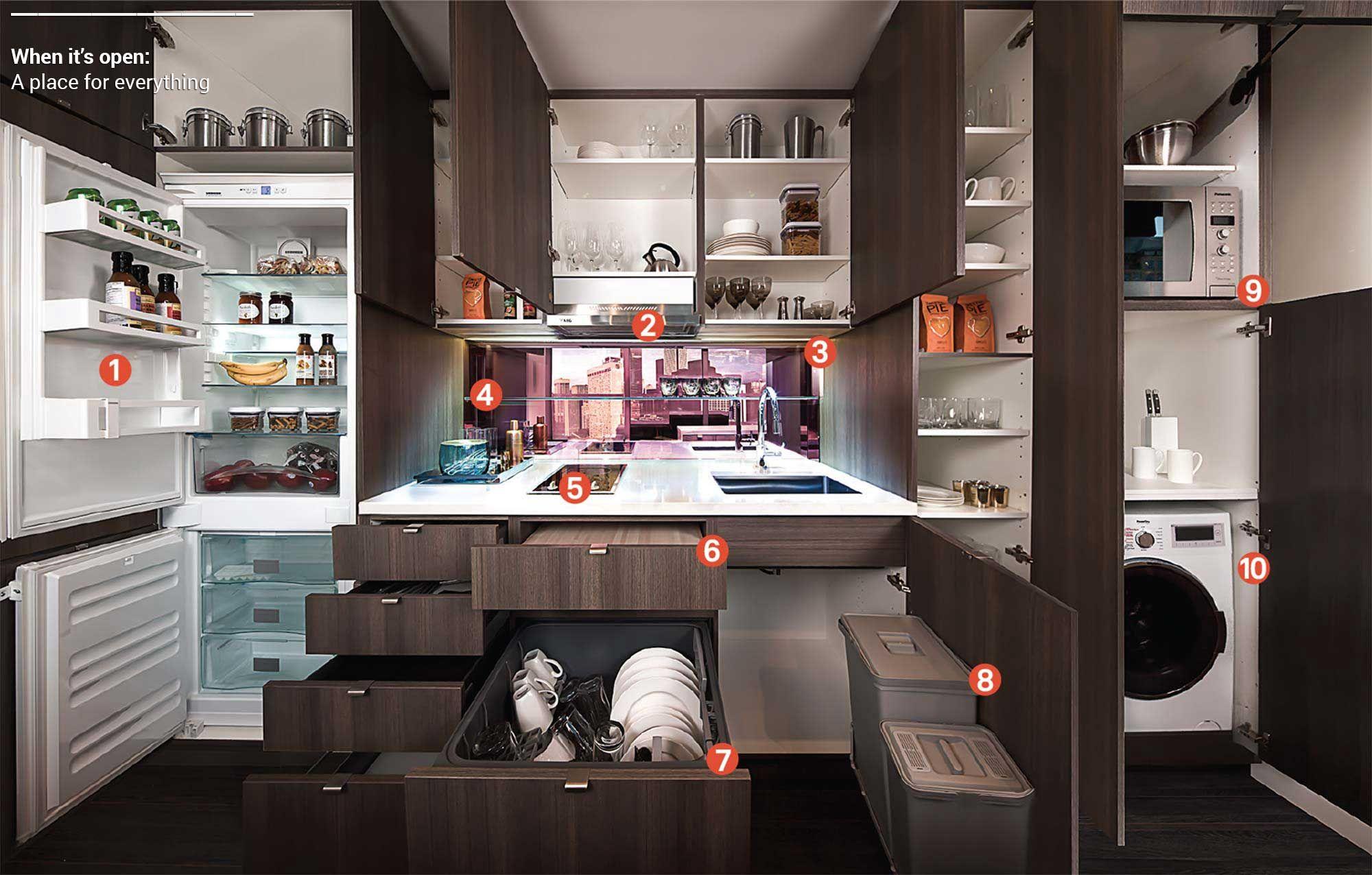 Küchendesign einfach klein top  intelligente küchenlösungen  in   küche design