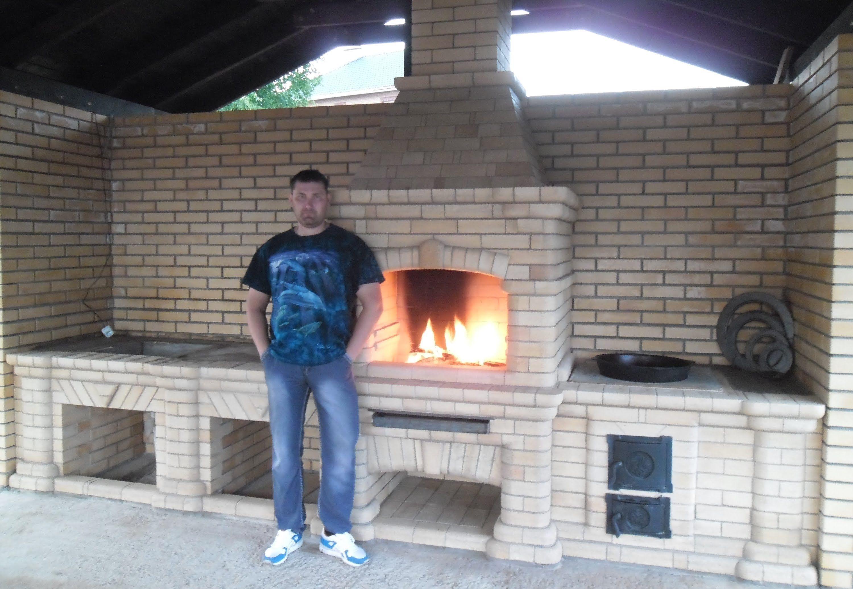Казан мангал из кирпича своими руками чертежи фото 319