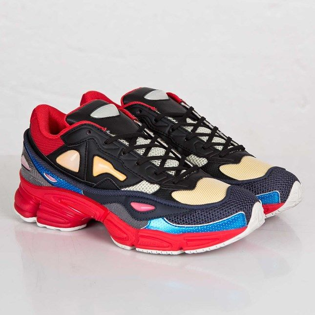 d2198b381b0 adidas Raf Simons Ozweego 2 - Black Power Red Pearl Grey Article number   B26076