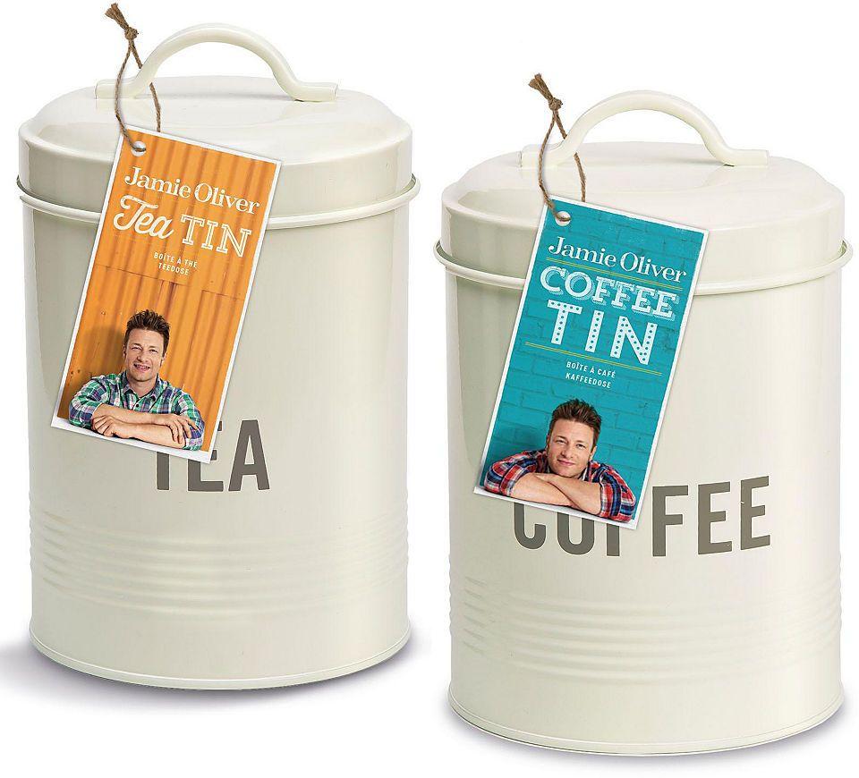 Jamie Oliver Dosen-Set Edelstahl, 2-teilig, »Coffee/Tea« in 2018 ...