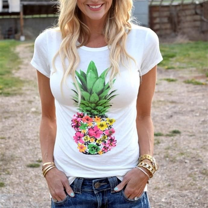 9951d42d624dfc Perfect Pineapple Tee in 2018