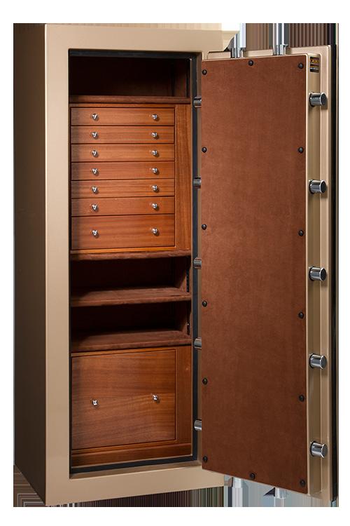 Custom Safes Gallery | Explore Casoro Jewelry Safes | Tall
