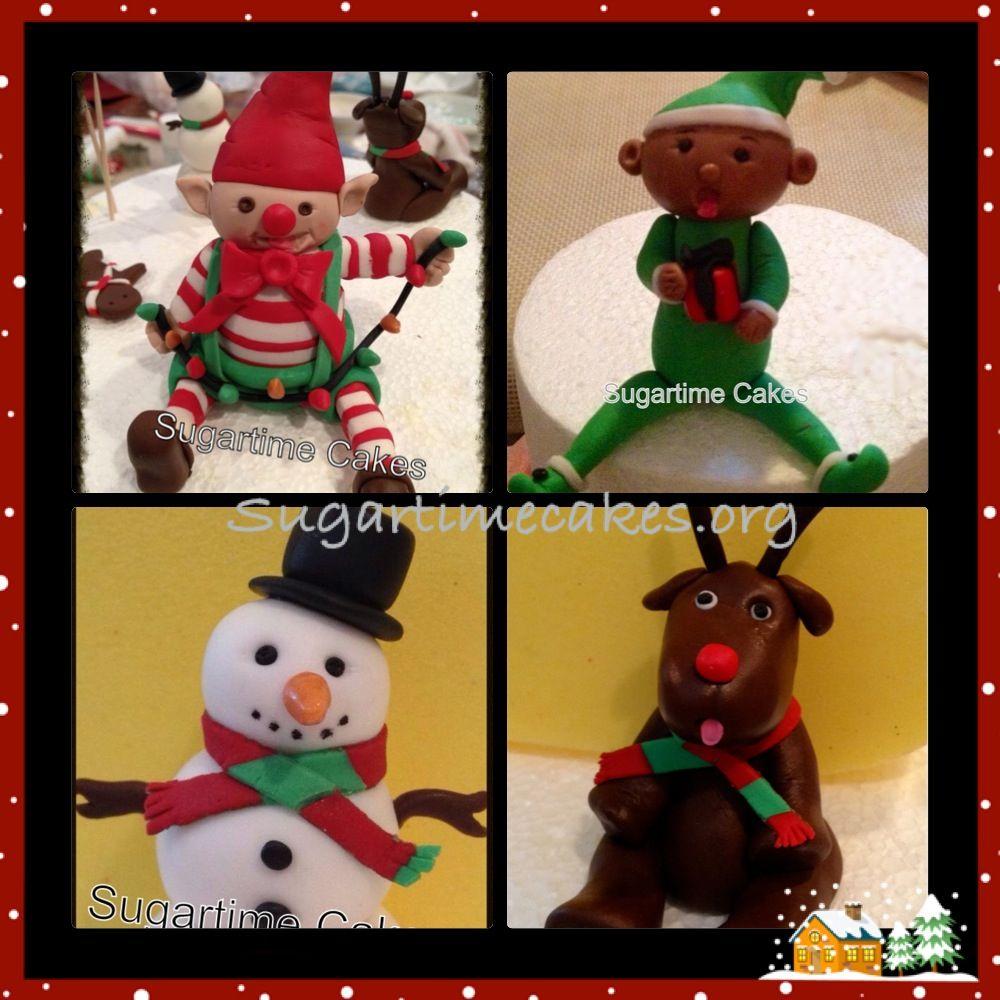 Gumpaste figurines