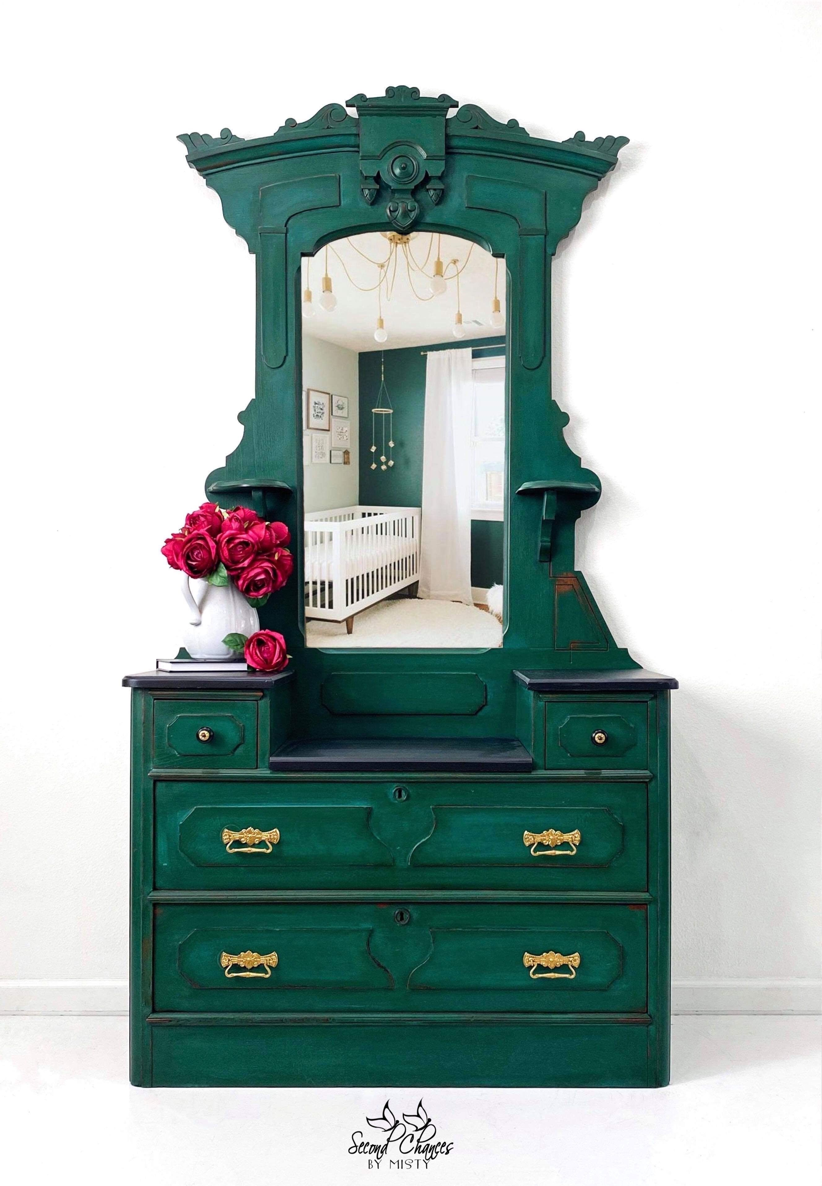 Reserved For Mary Eastlake Victorian Dresser Painted Green Bedroom Furniture Entryway Piece Farmhouse Style Dressing Table Eastlake Dresser Victorian Dressers Eastlake [ 3831 x 2655 Pixel ]