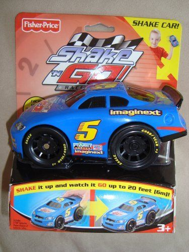 shake n 39 go racers blue stock car 5 by fisher price 12. Black Bedroom Furniture Sets. Home Design Ideas