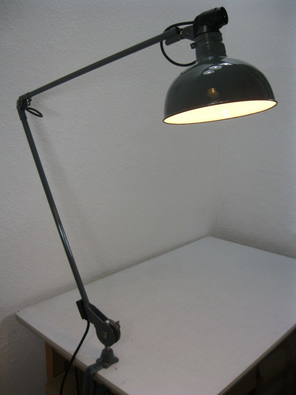 Wundervoll Moderne Tischlampen Das Beste Von Rademacher Klemmlampe Tischlampe Werkstattlampe