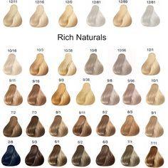 Wella koleston perfect rich naturals hair chart color formulas medium styles also professionals touch new in rh pinterest