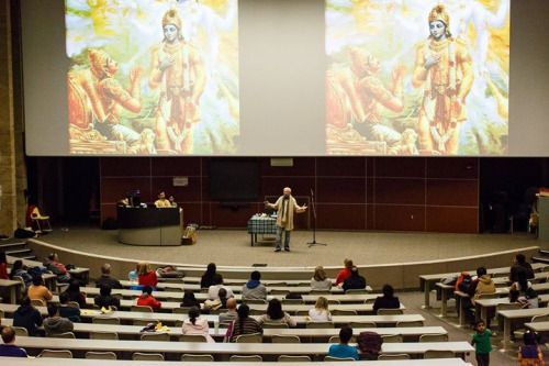 Mahabharata event at University of Cincinnati (Album with photos) Andy Fraenkel: It was a great pleasure for my wife and me to …