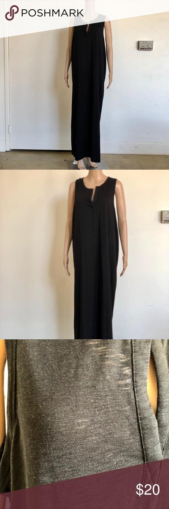 Gap long black maxi dress nwot in my posh closet pinterest