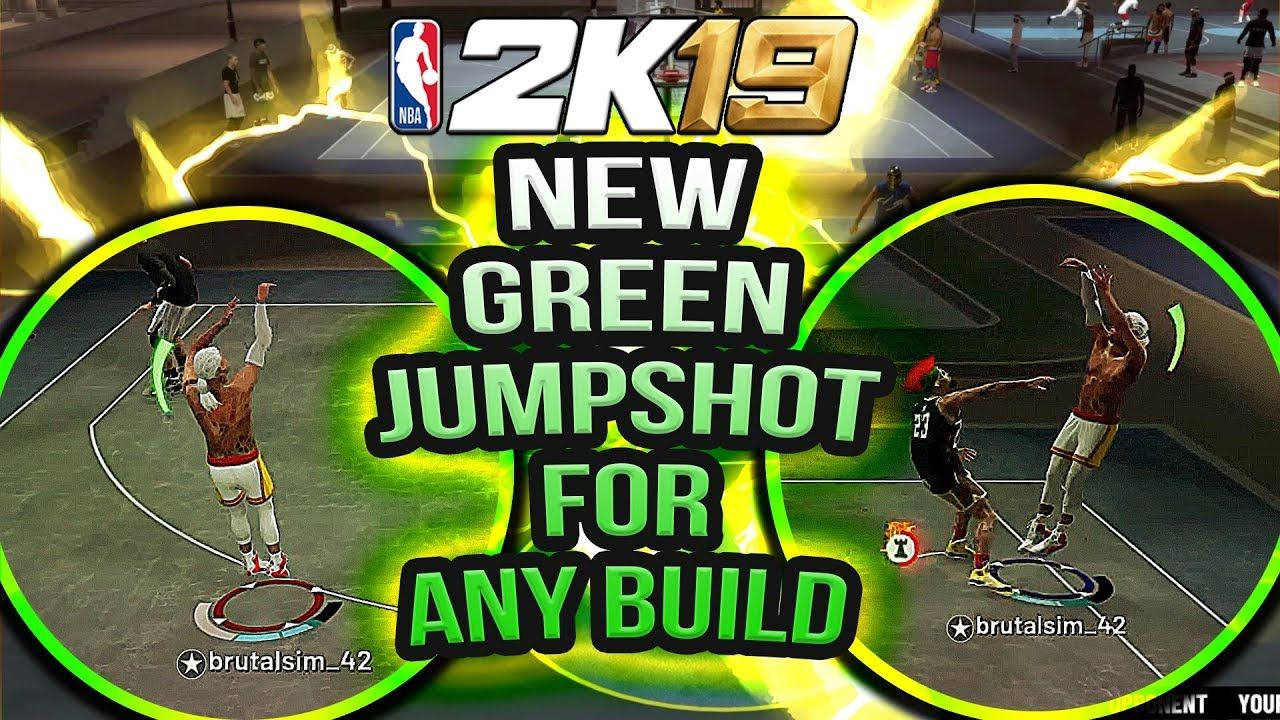 NEW GREEN LIGHT JUMPSHOT FOR NON-SHOOTING BUILDS NBA 2K19