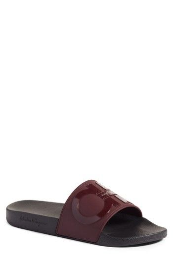 1f55963f840a SALVATORE FERRAGAMO GROOVE 2 SLIDE SANDAL.  salvatoreferragamo  shoes