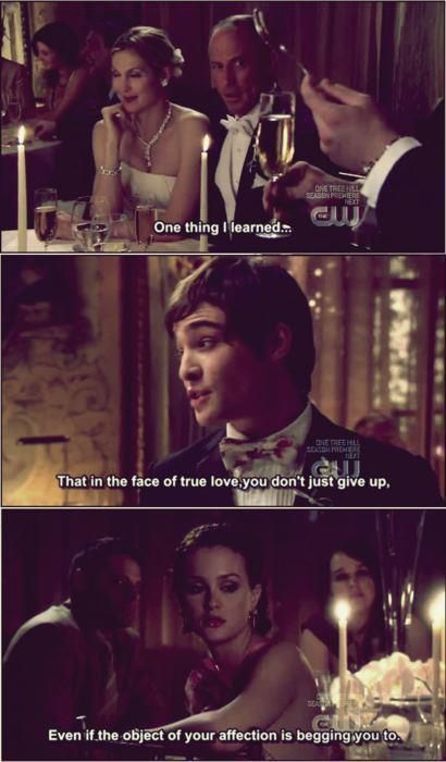 Chuck Says I Love You To Blair Gossip Girl Chairgossipgirl Gossip Girl Zitate Gossip Girl