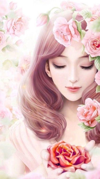 Pin By Aa Aa On Colocar Mensagens Moca Anime Art Beautiful Cartoon Girl Images Anime Art Girl