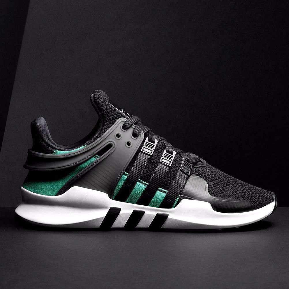 new style 76540 3ba83 Details about Adidas EQT Support Boost 93/17 Core Black ...