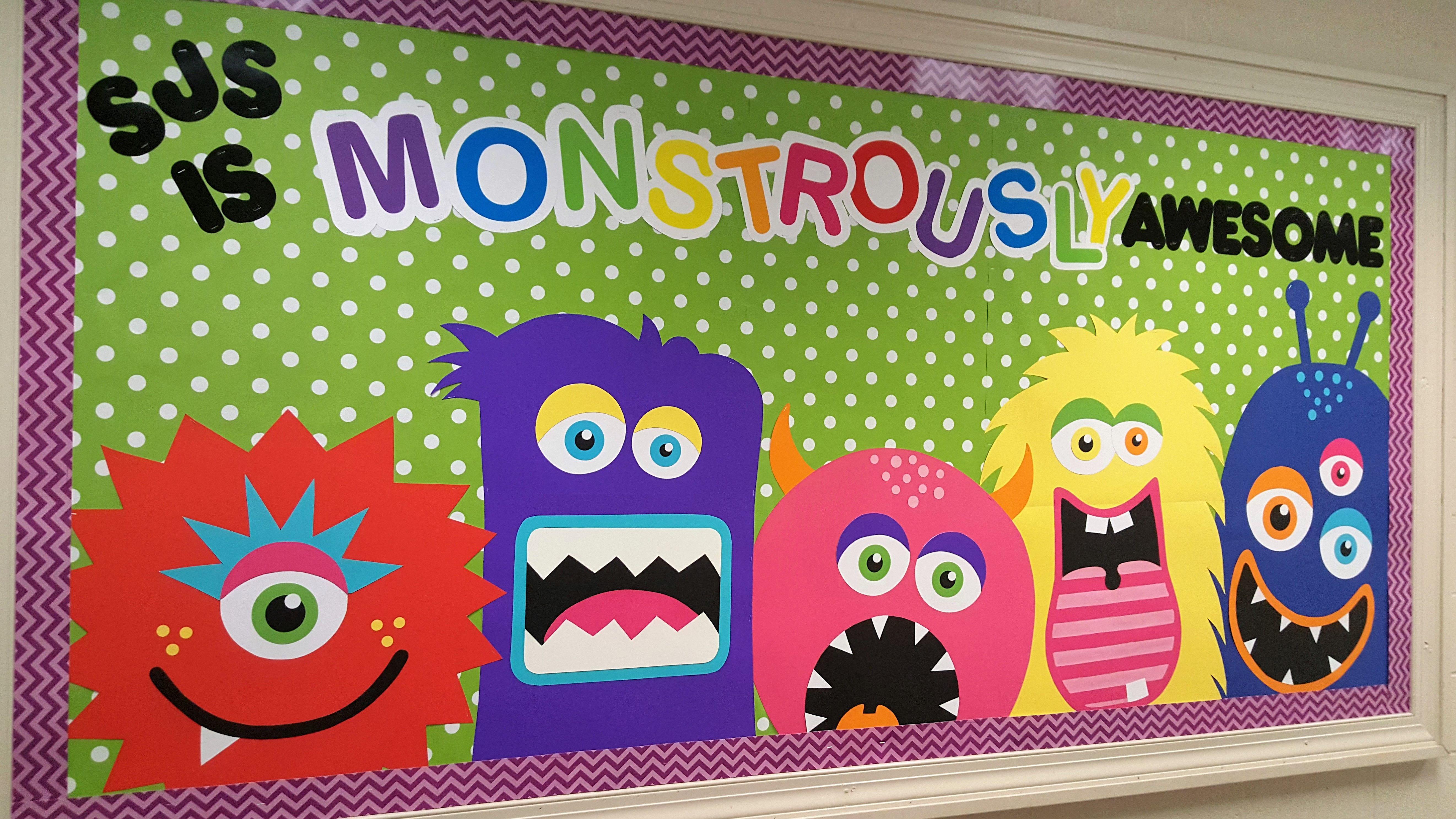 Vero Roehrs Monster Theme Pinterest Monstros Sala De Aula E  -> Decoracao Sala De Artes