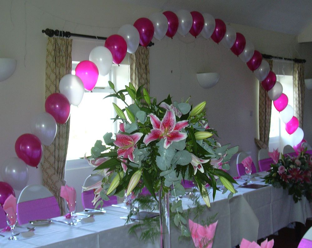 How to make a balloon arch without helium google search for Home decorations with balloons