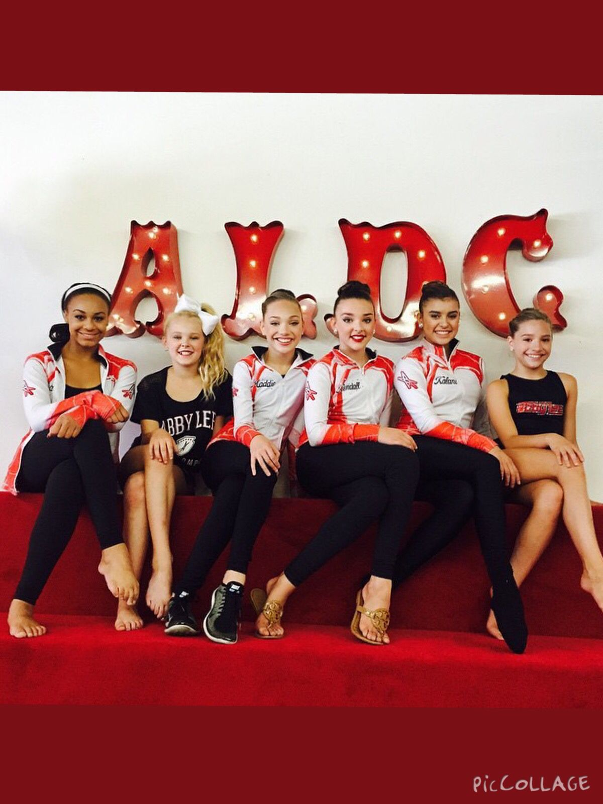 Nia Jojo Maddie Kendall Kalani And Kenzie Dance Moms Girls