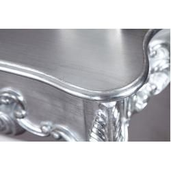 Photo of Elegant console Venice 110cm silver baroque design sideboard handmade Riess Ambiente