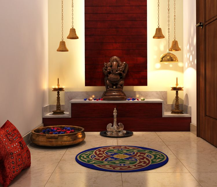 Home Interior Design Ideas Hyderabad: 10 Divine Pooja Room Designs For Urban Homes
