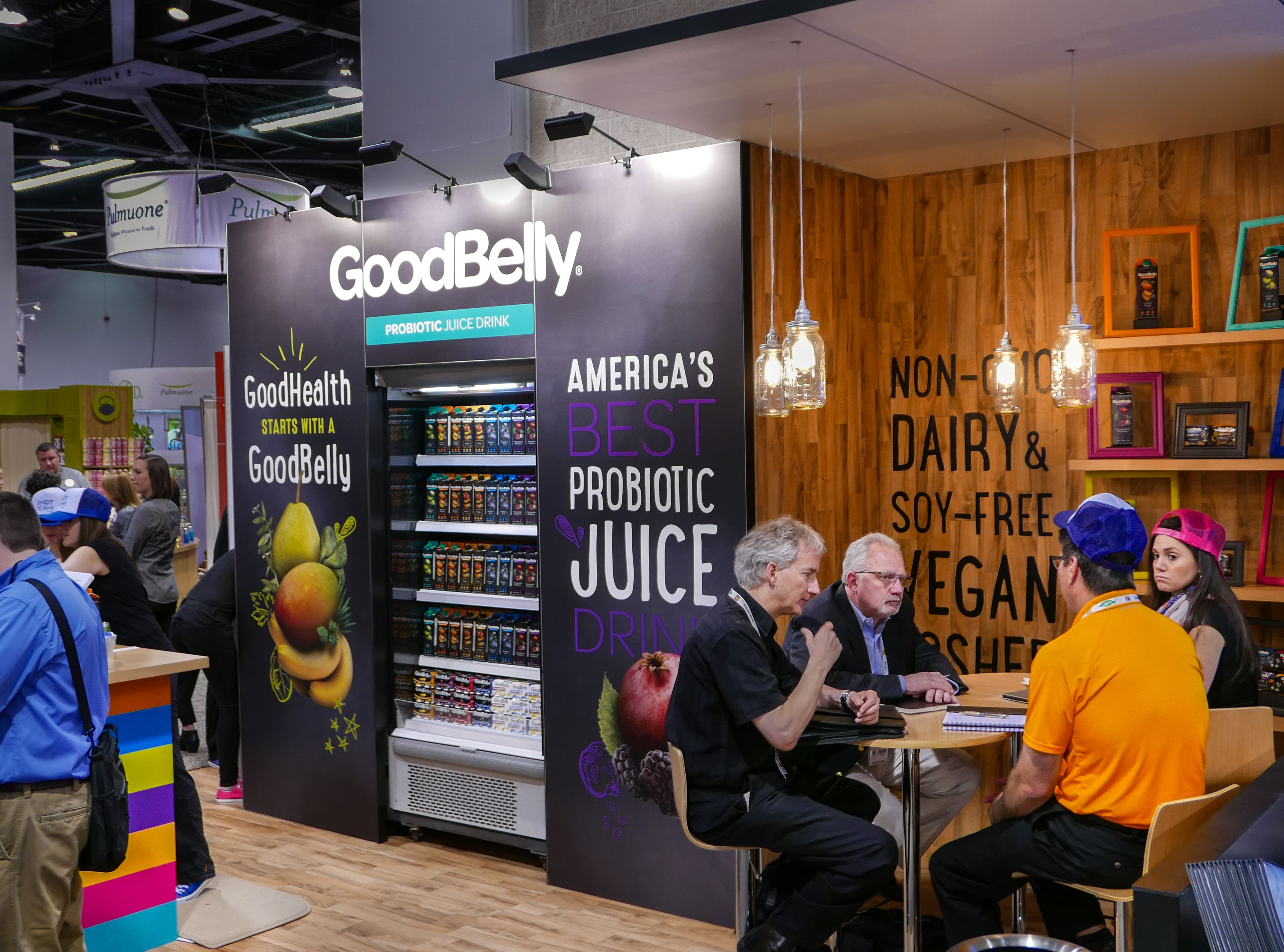 We Created This Vibrant And Energetic Trade Show Booth Design For Good Belly In Order To
