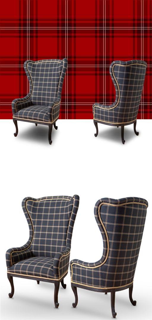 osez les carreaux et le tissus cossais m me si vous n. Black Bedroom Furniture Sets. Home Design Ideas