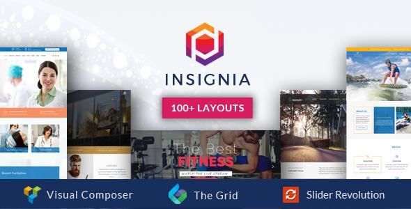 Insignia - High Performance Creative MultiPurpose WordPress Theme