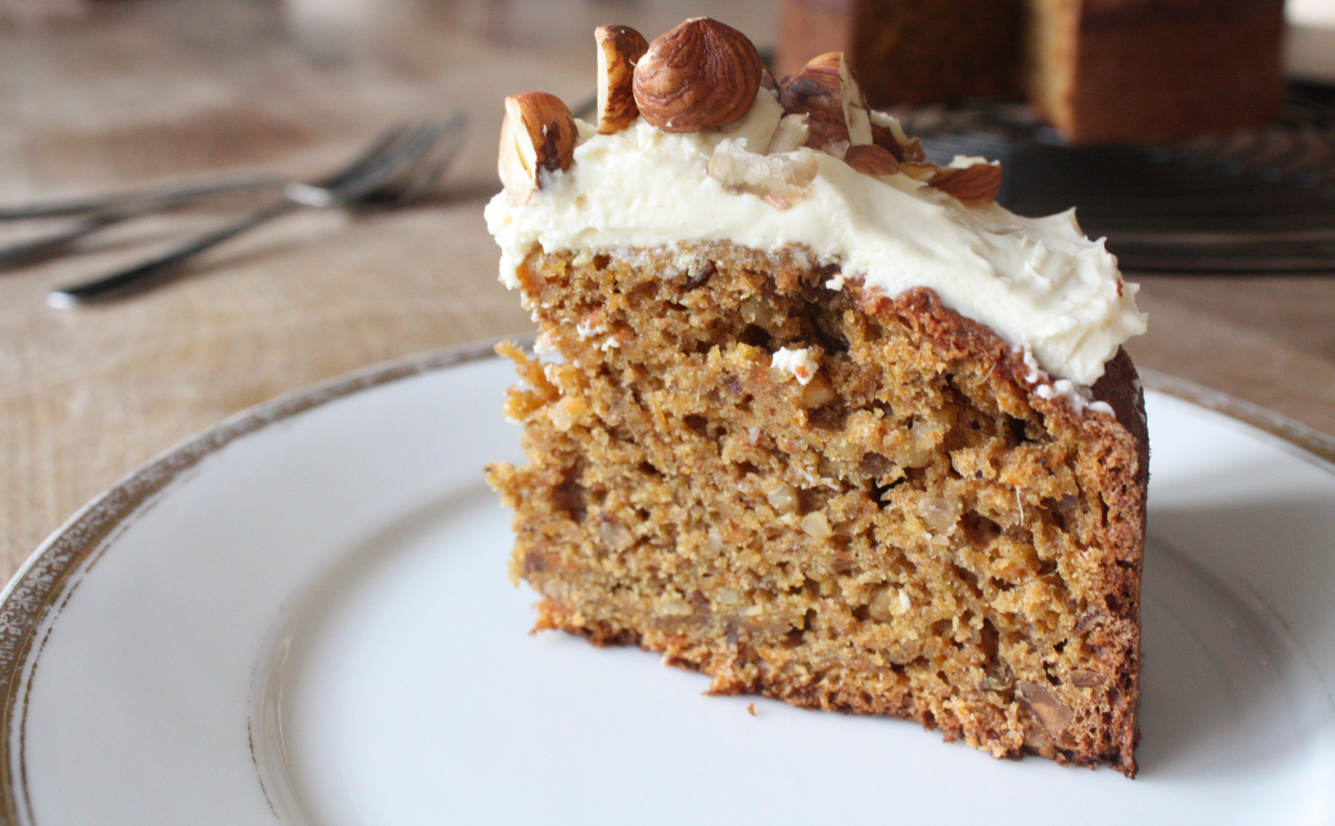 Haselnuss-Karotten-Kuchen | Ich liebe Kuchen/ I love cake ...